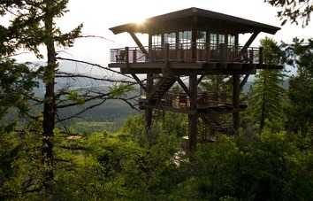 Timber Frame Lookout Tower