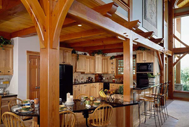 Timber Framed Kitchen